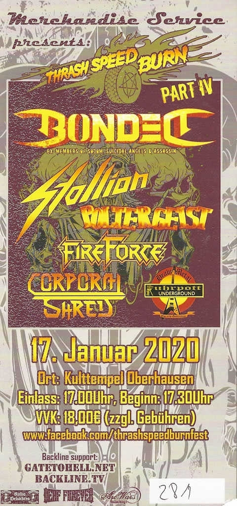 Thrash Speed Burn Part IV 17-01-2020